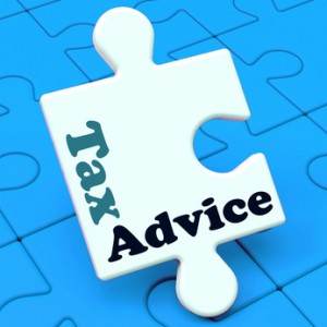 Tax Advice Puzzle Showing Taxation Irs Help